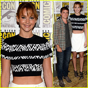 Jennifer Lawrence & Josh Hutcherson: 'Catching Fire' Trailer + Panel Pics!