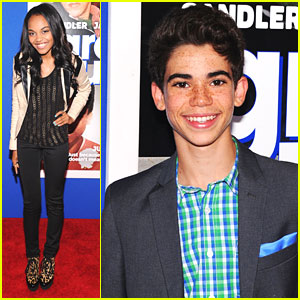 China Anne McClain & Cameron Boyce: 'Grown Ups 2' in NYC!