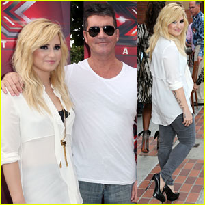 Demi Lovato: 'X Factor' Day Two L.A. Auditions!