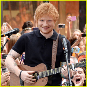 Ed Sheeran: 'Today Show' Performance Pics & Video!