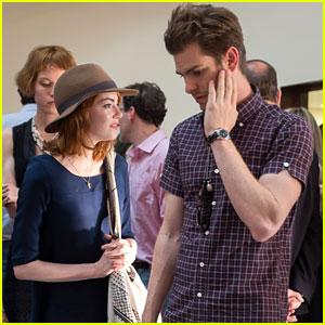 Emma Stone & Andrew Garfield: Woody Allen Concert Couple!