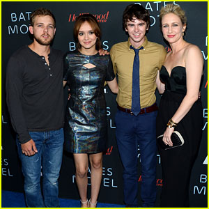 Freddie Highmore: 'Bates Motel' Comic-Con Party!