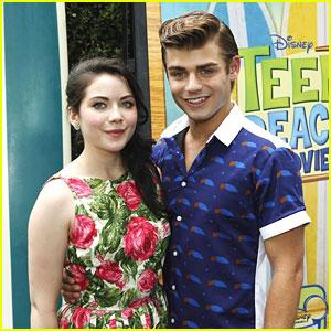 Grace Phipps & Garrett Clayton: 'Teen Beach Movie' Cast Screening