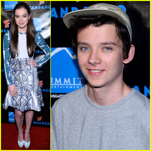 Hailee Steinfeld & Asa Butterfield: Summit Comic-Con Party Pair