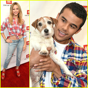 Jacob Artist & Halston Sage: Abercrombie & Fitch's Stars On The Rise 2013 Launch