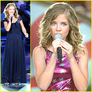 Jackie Evancho Sings National Anthem at Capitol 4th Concert