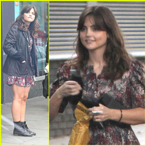 Jenna-Louise Coleman: Post Office Run
