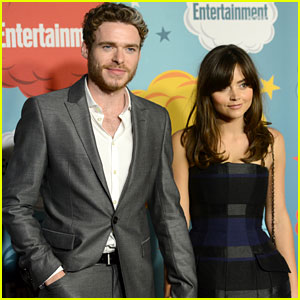 Jenna Coleman & Richard Madden: EW's Comic-Con Party Pair!