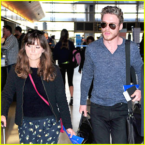 Jenna Coleman & Richard Madden: From LAX To London