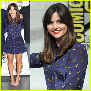 Jenna Coleman: 'Doctor Who' Panel at Comic-Con 2013