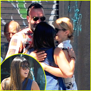 Dianna Agron & Jenna Ushkowitz: Reunion Lunch After Cory Monteith's Passing