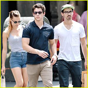 Nick & Joe Jonas: Lunch with Blanda Eggenschwiler