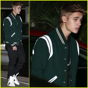 Justin Bieber Attends Selena Gomez's 21st Birthday Party!