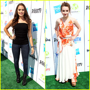 Kaitlyn Dever & Madison Pettis: Power of Youth 2013