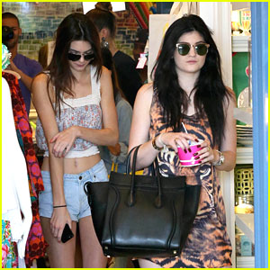 Kendall & Kylie Jenner: Sister Shopping Day!