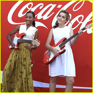 Amandla Stenberg & Kiernan Shipka: Power of Youth 2013