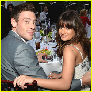 Lea Michele Grieving With Cory Monteith's Family