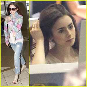 Lily Collins Loved Playing 'Badass, Sexy, Dominatrix-y' Clary