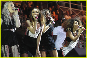 Little Mix: Newmarket Racecourse Concert
