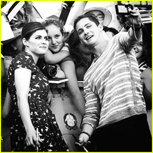 Logan Lerman & Alexandra Daddario: Giffoni Film Festival Awards!