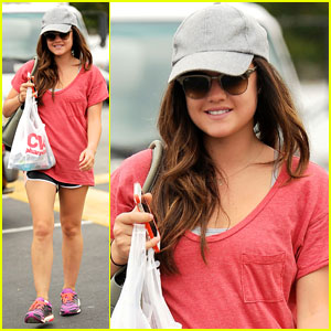 Lucy Hale: I'm Not Quitting 'Pretty Little Liars'!
