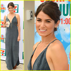 Nikki Reed Hosts 7-11's Birthday Beach Bash!