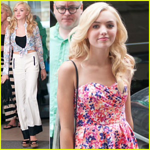 Peyton List: NYC Outfit Switch!