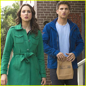 Troian Bellisario & Keegan Allen: Ravenswood Visit on 'PLL' Tonight