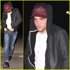 Robert Pattinson Attends Justin Timberlake & Jay-Z's Concert with Sia