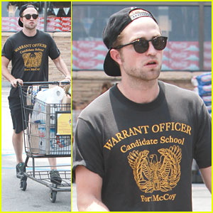 Robert Pattinson: Grocery Store Run