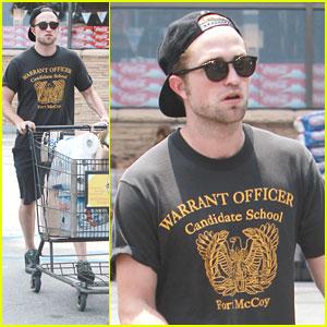 Robert Pattinson: Grocery Store Run