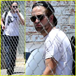 Robert Pattinson Rocks a 'Smiths' Band Shirt