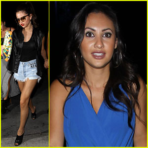 Selena Gomez & Francia Raisa: Girls Night at the Beyonce Concert!
