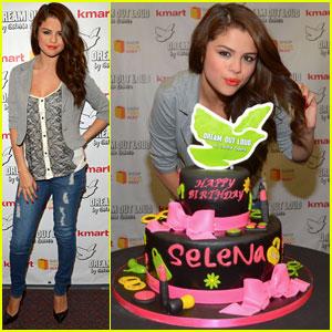 Selena Gomez: Kmart 'Dream Out Loud' Collection Launch