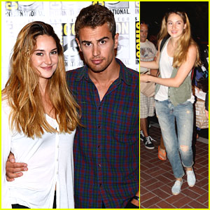 Shailene Woodley & Theo James: 'Divergent' Panel at Comic-Con 2013