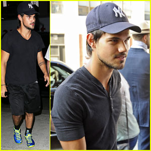 Taylor Lautner Had a Blast Making 'Grown Ups 2'