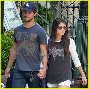 Taylor Lautner & Marie Avgeropoulos: New Couple Alert?