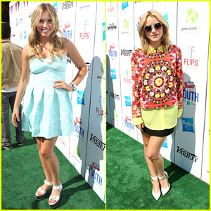 Taylor Spreitler & Gracie Dzienny: Power of Youth 2013