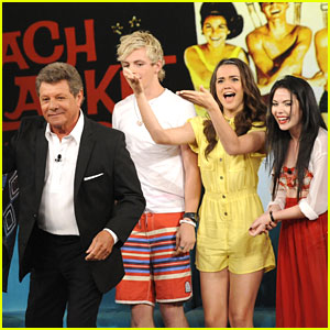 Ross Lynch & Maia Mitchell Meet Frankie Avalon on 'The View'