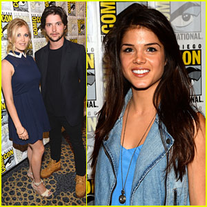 Eliza Taylor & Thomas McDonell: 'The 100' at Comic-Con 2013
