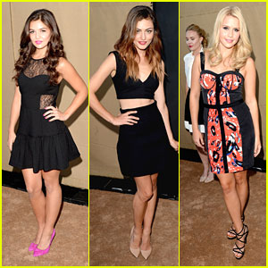 Danielle Campbell: CW Summer TCA Party with Phoebe Tonkin