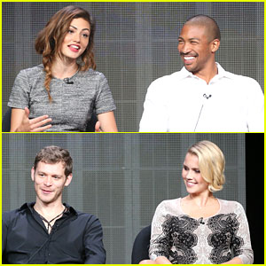 Phoebe Tonkin & Joseph Morgan: 'The Originals' at TCA Summer Press Tour