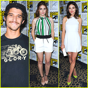 Tyler Posey Attends 'Teen Wolf' Panel After Engagement Announcement