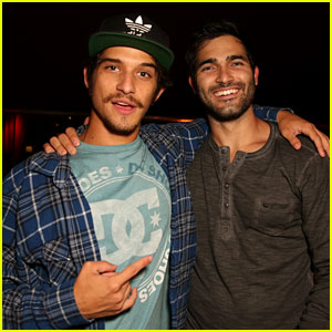 Tyler Posey & Tyler Hoechlin: Maxim Comic-Con Party!