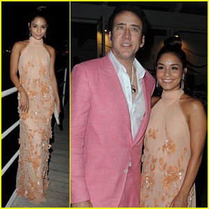 Vanessa Hudgens: 'Frozen Ground' Premiere with Nicolas Cage!
