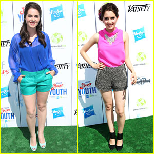 Vanessa & Laura Marano: Power of Youth 2013