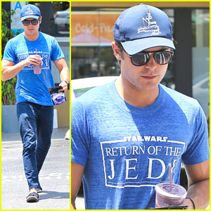 Zac Efron: Earth Bar Stop