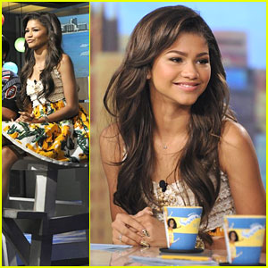 Zendaya: 'The View' Appearance!