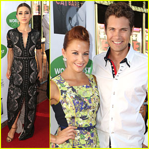 Drew Seeley & Amy Paffrath: 'Catberet' with Olesya Rulin