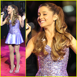 Ariana Grande - MTV VMAs 2013 Pre-Show Performance Pics & Video!